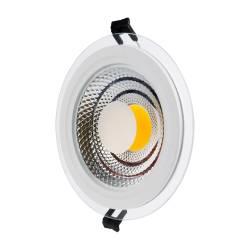 SPOT LED 15W COB ROTUND STICLA Lumina Rece Corpuri de iluminat