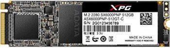SSD ADATA XPG SX6000 Pro 512GB PCIe Gen3x4 M.2 - 2280