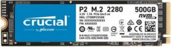 SSD Crucial P2 500GB PCI Express 3.0 x4 M.2