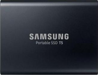 SSD extern Samsung T5 portabil 1 TB USB 3.1 MU-PA1T0BEU Negru SSD uri