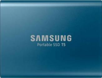 SSD Extern Samsung T5 500GB USB 3.1 2.5inch Blue SSD uri