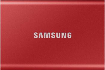 SSD extern Samsung T7 2TB USB 3.2 Metallic Red