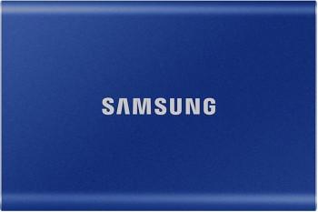 SSD extern Samsung T7 500GB USB 3.2 Gen 2 Indigo Blue