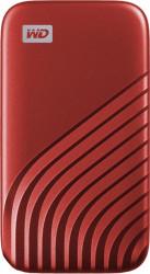 SSD Extern WD My Passport 1TB USB 3.2 Gen 2 Type-C Red