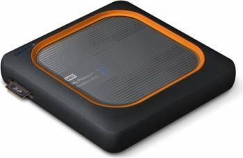 SSD Extern Western Digital My Passport Wireless USB 2.0 2.5 inch 2TB Negru SSD uri
