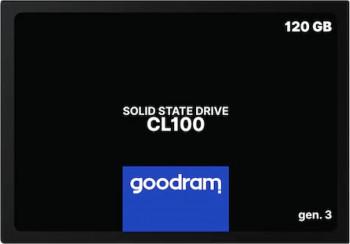 SSD GoodRam CL100 Gen.3 120GB SATA III 2.5inch SSD uri