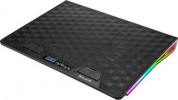 Stand Cooler Laptop Gaming Marvo FN-39 Max 17inch Iluminare cu 7 culori si 3 efecte RGB USB Inclinare reglabila Negru
