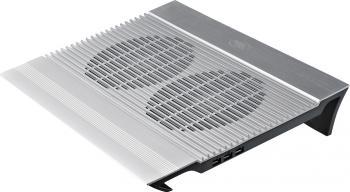 Stand Racire DeepCool N8 17inch 4xUSB Hydro Bearing Aluminiu Argintiu Standuri Coolere laptop