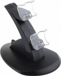 Stand/Dock Incarcare OEM Controller Dual Usb cu led pentru PS4 Negru