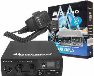 Statie radio Alan 100 Plus B Alarme auto si Senzori de parcare