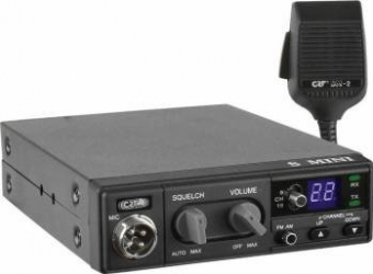 Statie radio CB CRT S Mini cu ASQ