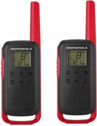 Statie radio PMR portabila Motorola TALKABOUT T62 RED set cu 2 buc