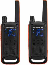 Statie radio PMR portabila Motorola TALKABOUT T82 set cu 2 buc