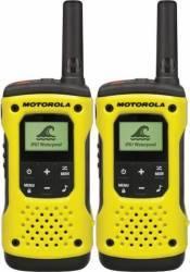 Statie Radio Walkie Talkie Motorola TLKR T92 H2O IP67 set cu 2 buc Galben Statii radio