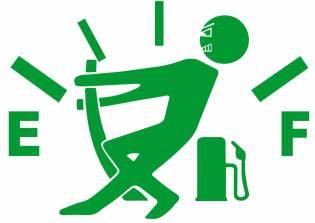 Sticker clapeta rezervor auto culoare verde decorativ Huse si Accesorii