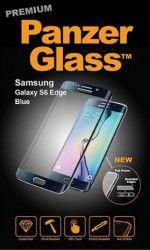 sticla securizata Premium Samsung Galaxy S6 Edge Black Blue color Refurbished
