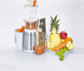Storcator de fructe si legume Ariete Centrika Slow Juicer Metal 177 400 W Alb Inox Storcatoare