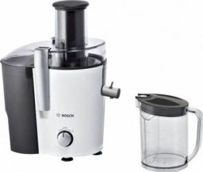 Storcator de fructe si legume Bosch MES25A0 700 W Recipient suc 1.25 l Recipient pulpa 2 l 2 Viteze Alb Storcatoare