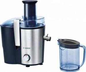 Storcator de fructe si legume Bosch MES3500 700 W Recipient suc 1.25 l Recipient pulpa 2 l 2 Viteze Albastru Storcatoare