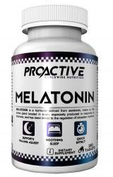 Supliment insomie Melatonina Proactive Melatonin 180 tablete Vitamine si Suplimente nutritive