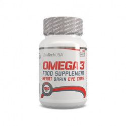 Supliment Omega3 Biotech Usa 90 capsule Vitamine si Suplimente nutritive