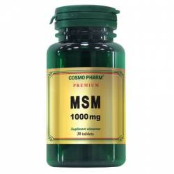 Supliment Alimentar MSM 1000mg 30cps Cosmo Pharm