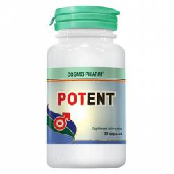 Supliment Alimentar Potent 30cps Cosmo Pharm