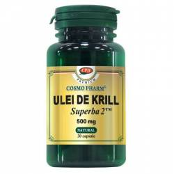 Supliment Alimentar Ulei Krill 500mg 30cps Cosmo Pharm
