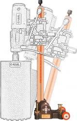 Suport cu reglaj unghi 60 grade Cabel CSN-10A Accesorii masini de gaurit