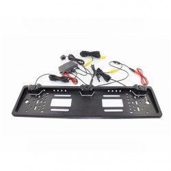 Suport numar auto cu camera video marsarier cu IR senzori de parcare Alarme auto si Senzori de parcare