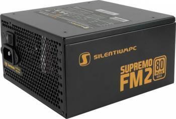 Sursa Modulara SilentiumPC Supremo FM2 650W 80 PLUS Gold Resigilat Surse