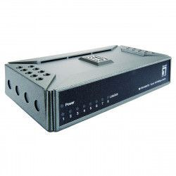 Switch Level One 8-Port Fast Ethernet 8xRJ45 10/100 silentios alimentare externa desktop Switch uri