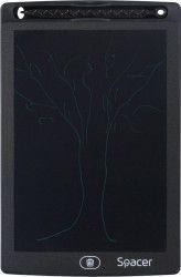 Tableta digitala LED pentru scris si desenat Spacer 8.5inch Negru