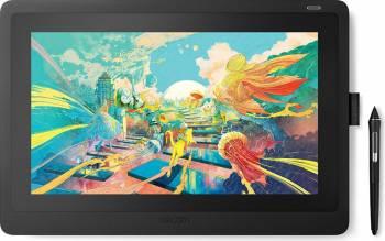 Tableta Grafica Wacom Cintiq 16 Black Interactive Pen Display DTK1660K0B