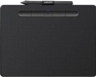 Tableta grafica Wacom Intuos S Bluetooth Negru