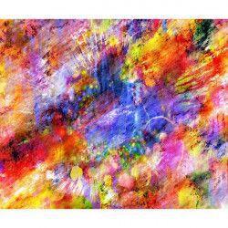 Tablou Canvas Abstract 289 72 x 60 cm Rama lemn Multicolor Tablouri
