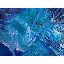 Tablou Canvas Abstract 341 80 x 60 cm Rama lemn Multicolor Tablouri