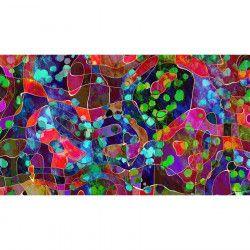 Tablou Canvas Abstract 35 90 x 50 cm Rama lemn Multicolor Tablouri