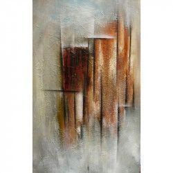 Tablou Canvas Abstract 398 50 x 80 cm Rama lemn Multicolor Tablouri