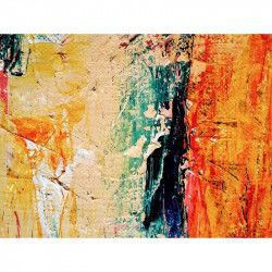 Tablou Canvas Abstract 788 80 x 60 cm Rama lemn Multicolor Tablouri