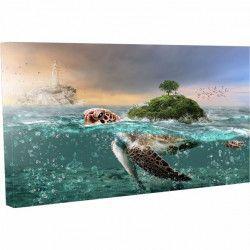 Tablou Canvas Apa Mare Natura Plaja 20 x 30 cm Tablouri