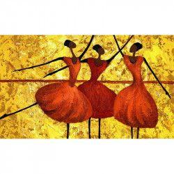 Tablou Canvas Arta Moderna Dansatoare 80 x 50 cm Rama lemn Multicolor Tablouri