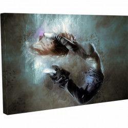 Tablou Canvas Artistic Atletism Femeie 20 x 25 cm Tablouri