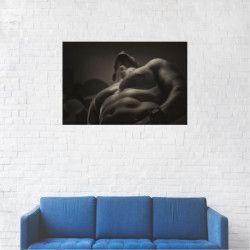 Tablou Canvas Barbat cu muschi 40 x 60 cm Tablouri