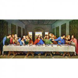 Tablou Canvas Cina cea de taina 80 x 40 cm Rama lemn Multicolor