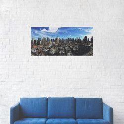 Tablou Canvas Cladiri Blue sky 50 x 100 cm Tablouri
