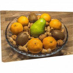 Tablou Canvas Cos cu fructe nuci si arahide 40 x 70 cm Tablouri