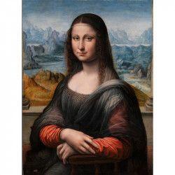 Tablou Canvas Gioconda 60 x 80 cm Multicolor