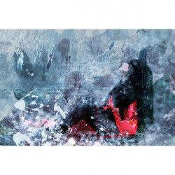 Tablou Canvas Melancolie 306 80 x 50 cm Rama lemn Multicolor Tablouri
