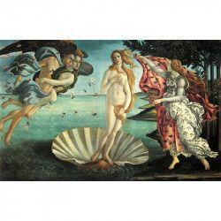 Tablou Canvas Nasterea lui Venus - Botticelli 80 x 50 cm Rama lemn Multicolor